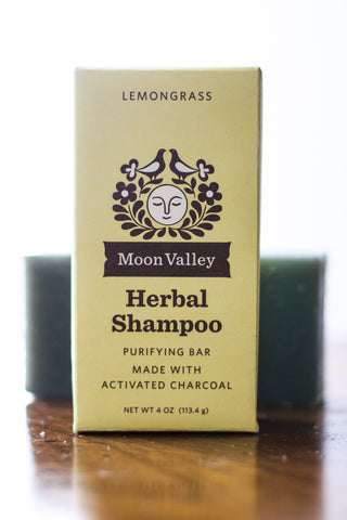 MV Shampoo Bar Lemongrass Charcoal