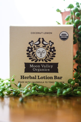 MV Lotion Bar Coconut Lemon Herbal