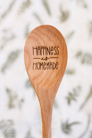 Homebody Society Happiness Is Homemade Spoon