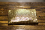 Vintage Whiting and Davis Gold Clutch