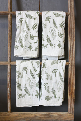 J & D Napkin Sets Fallen Ferns