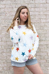 Multicolor Star Shirt Small