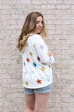 Multicolor Star Shirt Medium