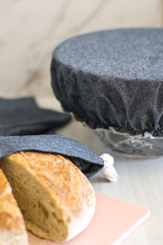 Dot & Army Bread Makers Set Chambray