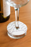 Noteworthy Paper & Press Floral Wine Markers