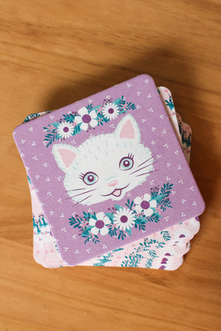 Cat Coasters (Set of 12)