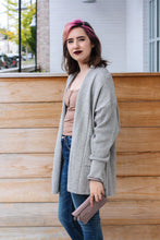 Load image into Gallery viewer, Waffle Back Cardigan Large