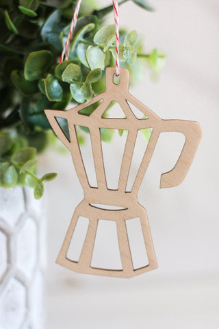 Wooden Ornament Espresso