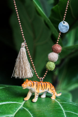 Animal Necklace Tiger