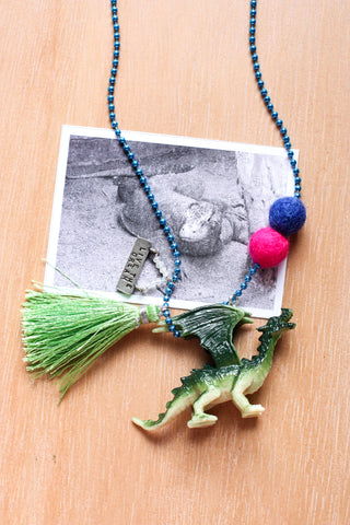 Animal Necklace  Dragon