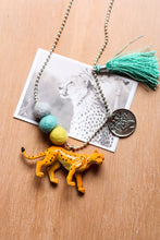 Load image into Gallery viewer, Animal Necklace  Cheetah