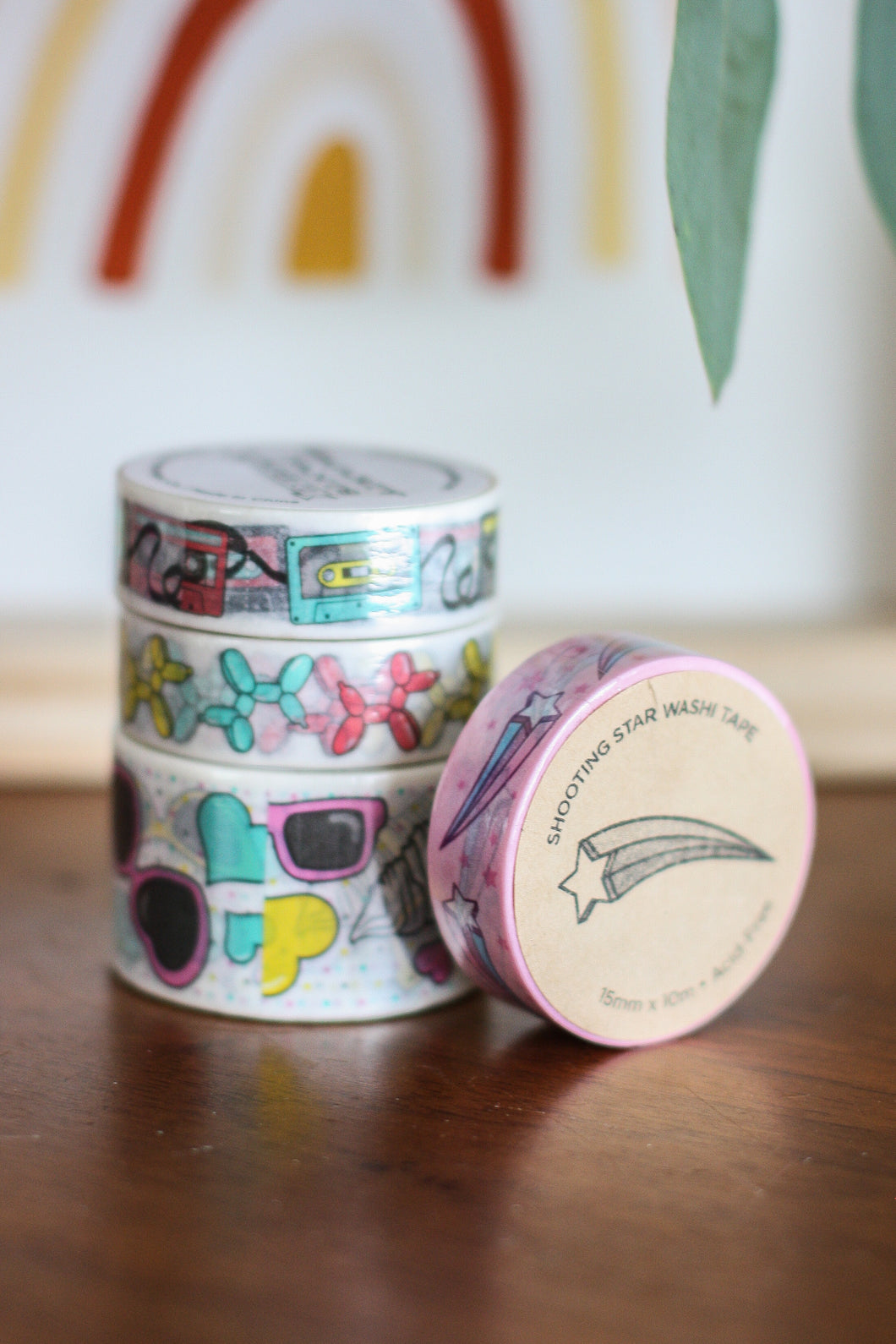 Washi Tape Shooting Star
