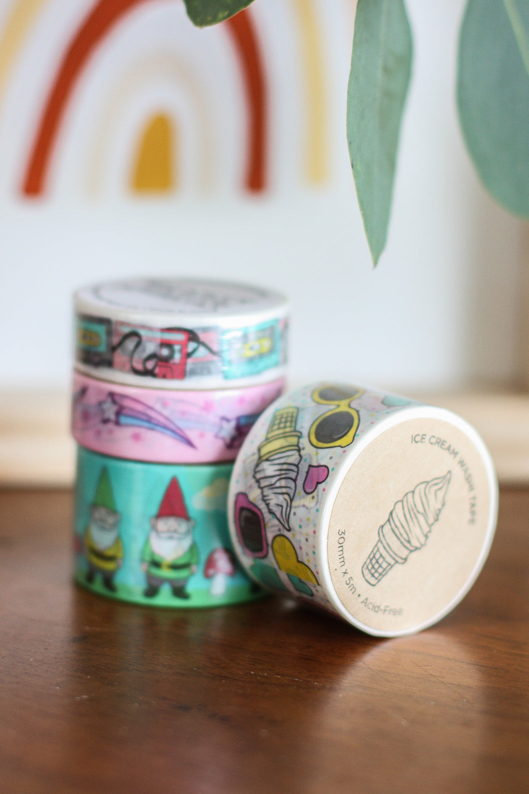 Washi Tape Ice Cream