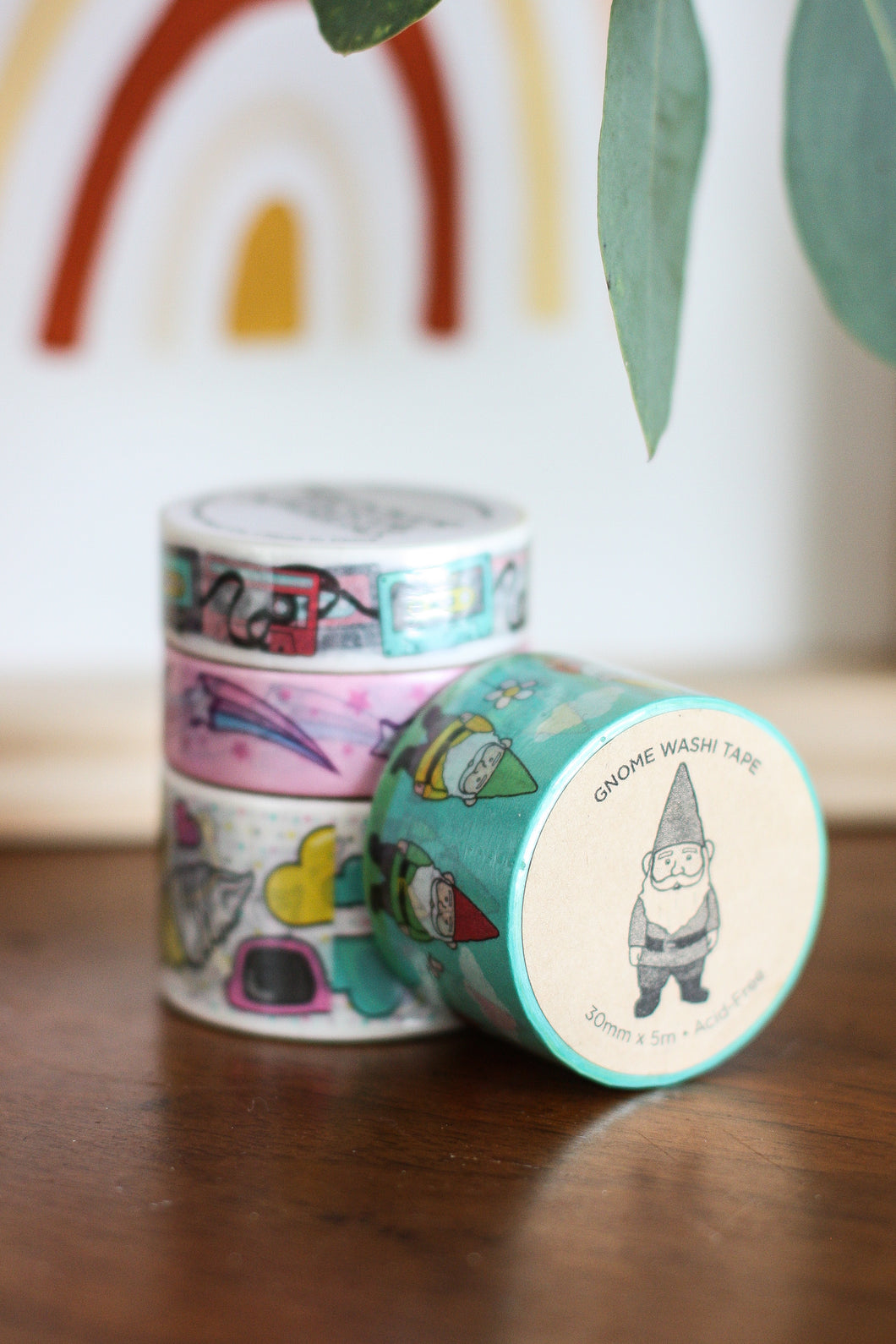 Washi Tape Gnome