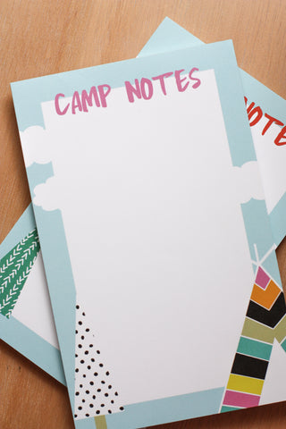 Camp Notes Pink