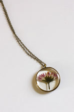 Load image into Gallery viewer, Pink Botanical Cameoko Necklace