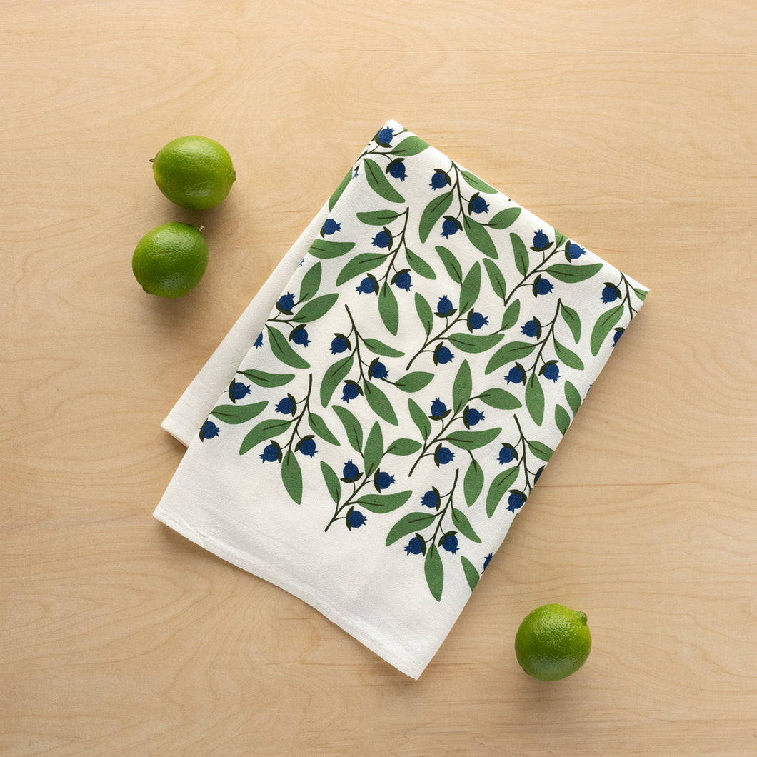 Tea Towels Blueberries