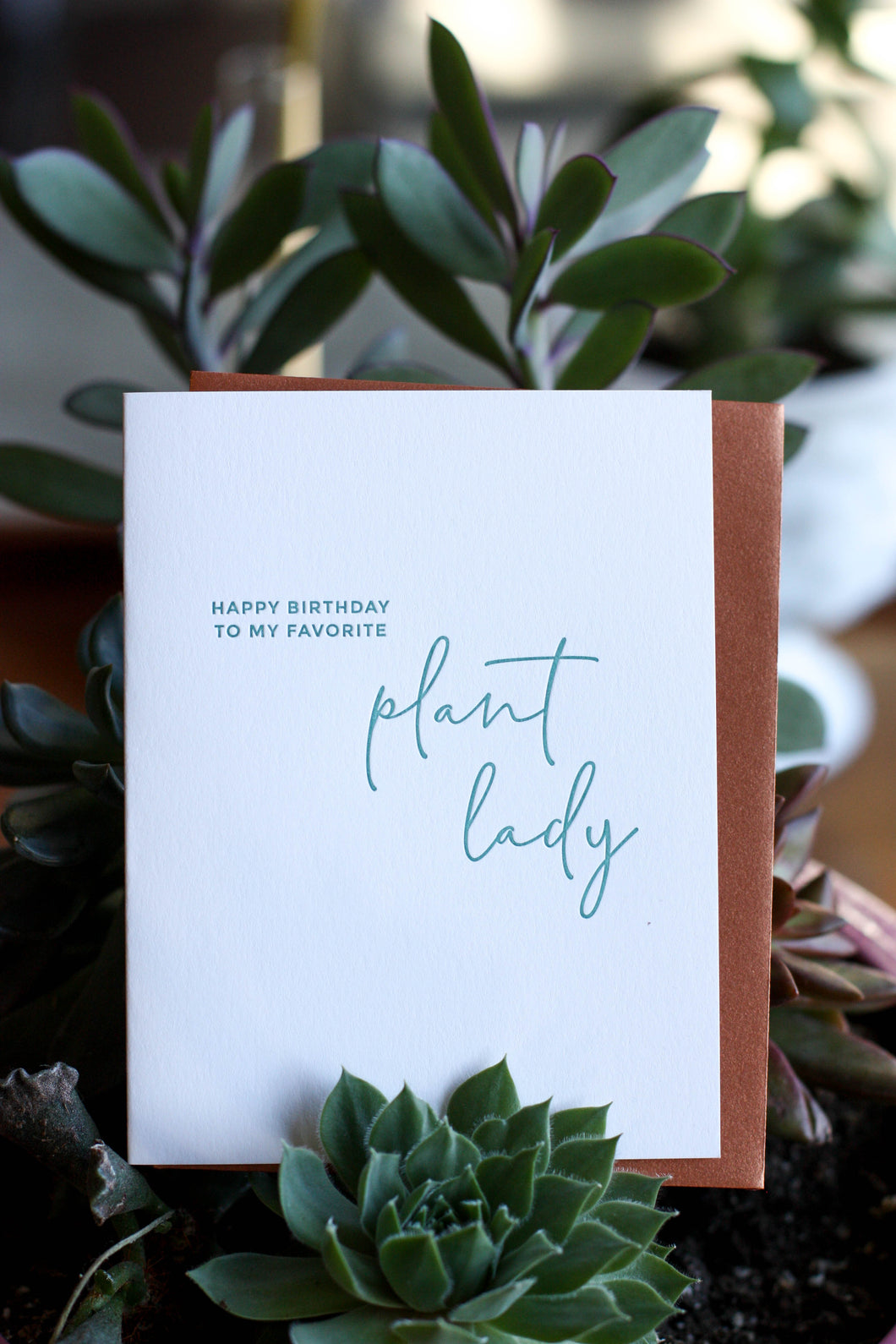 Missive Cards Plant Lady