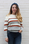 Color Blocked Sweater Medium