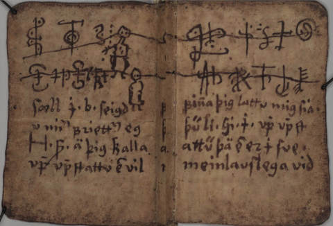 An Icelandic magic manuscript from the 17th century