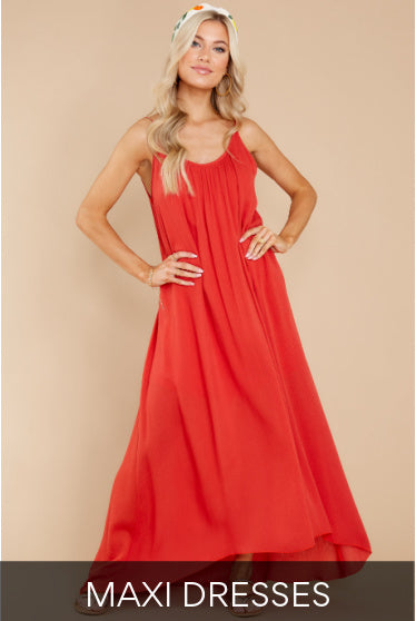Trendy And Unique Dresses For Women Red Dress