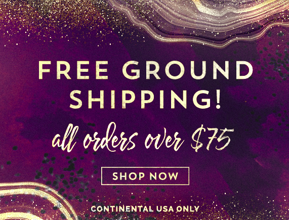 Free Ground Shipping on all Continental US orders of $75 or more!