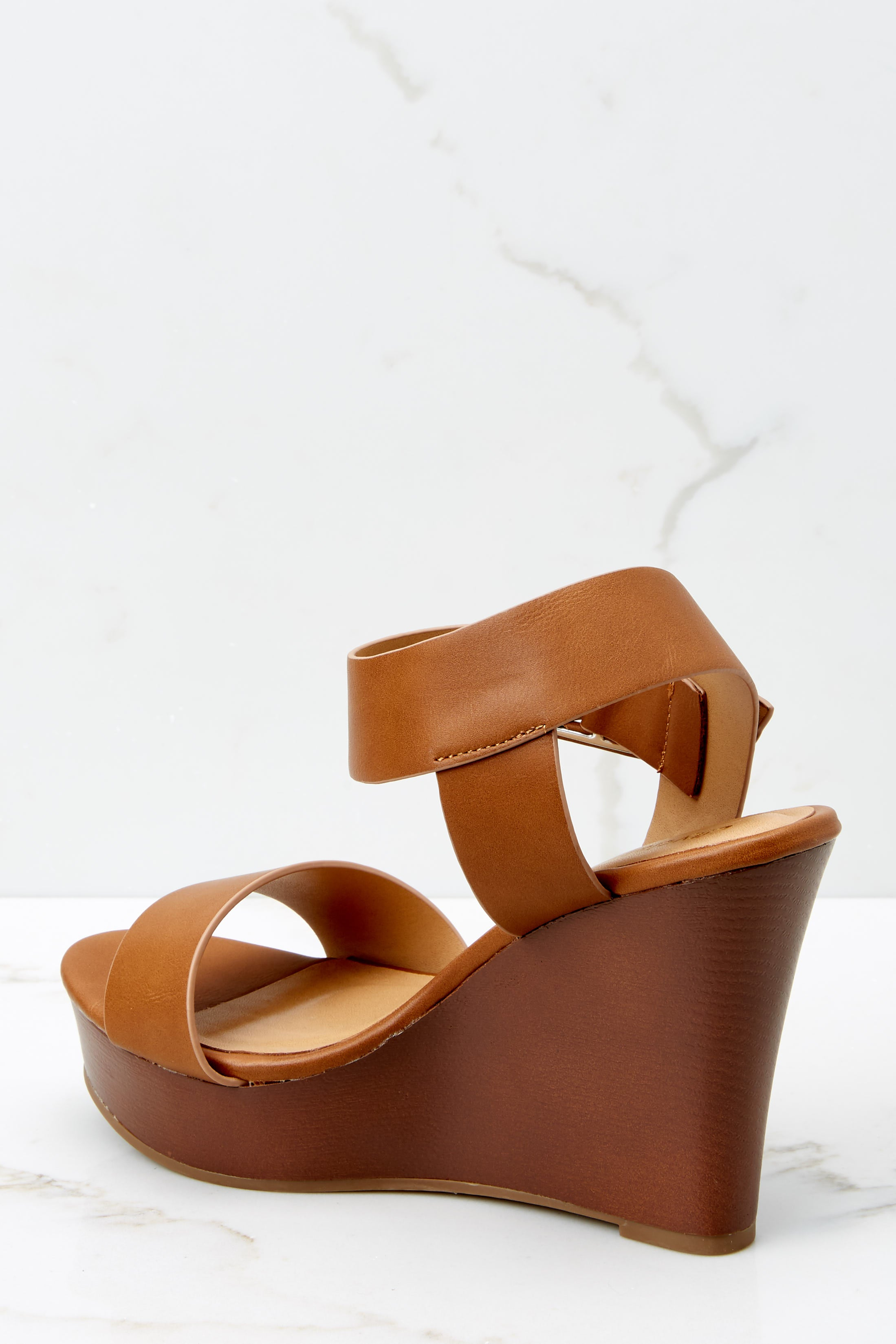 4 Work With It Brown Wedges at reddressboutique.com