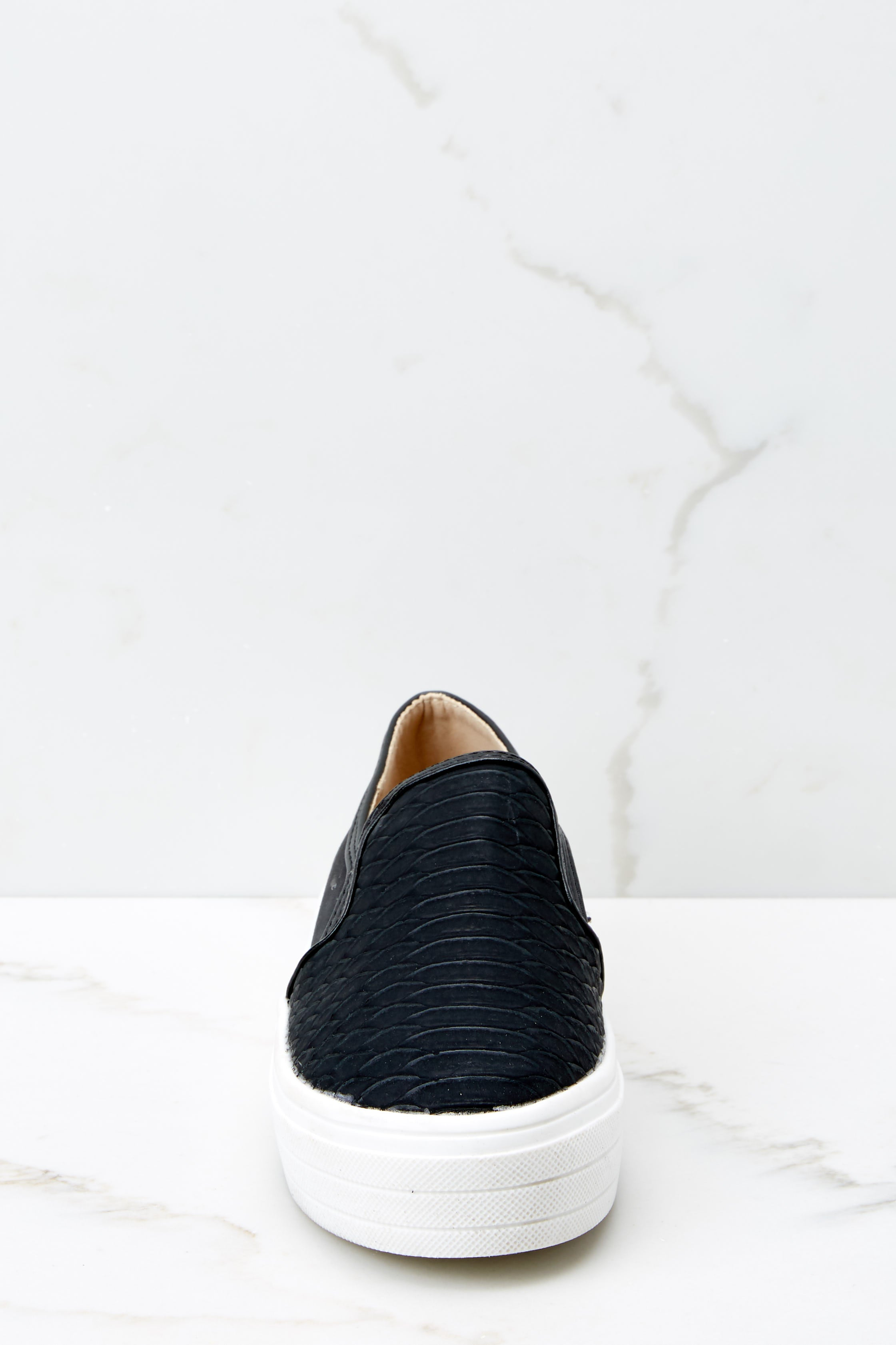 2 Into High Gear Black Slip On Sneakers at reddressboutique.com