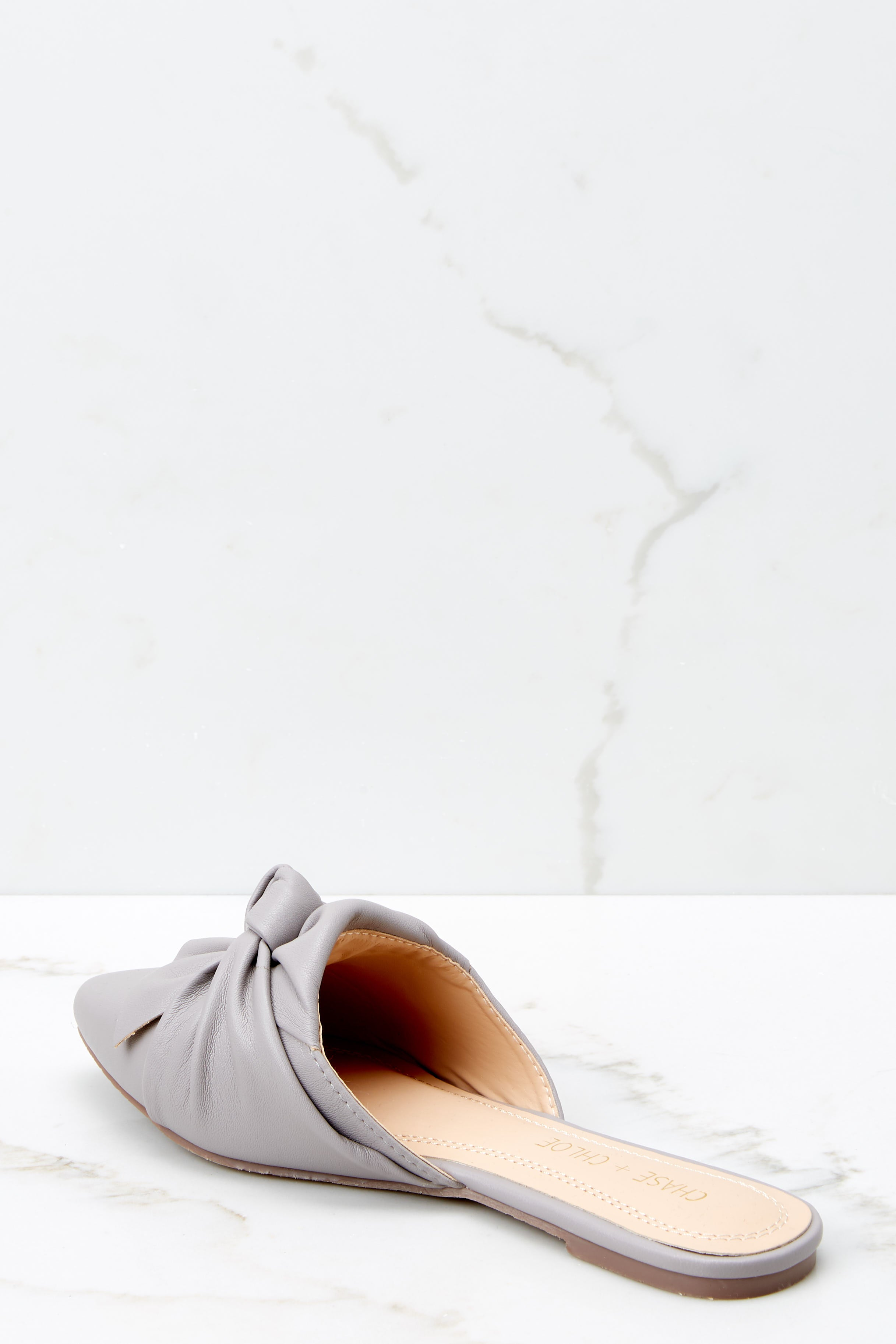 Set It Aside Heather Grey Mules
