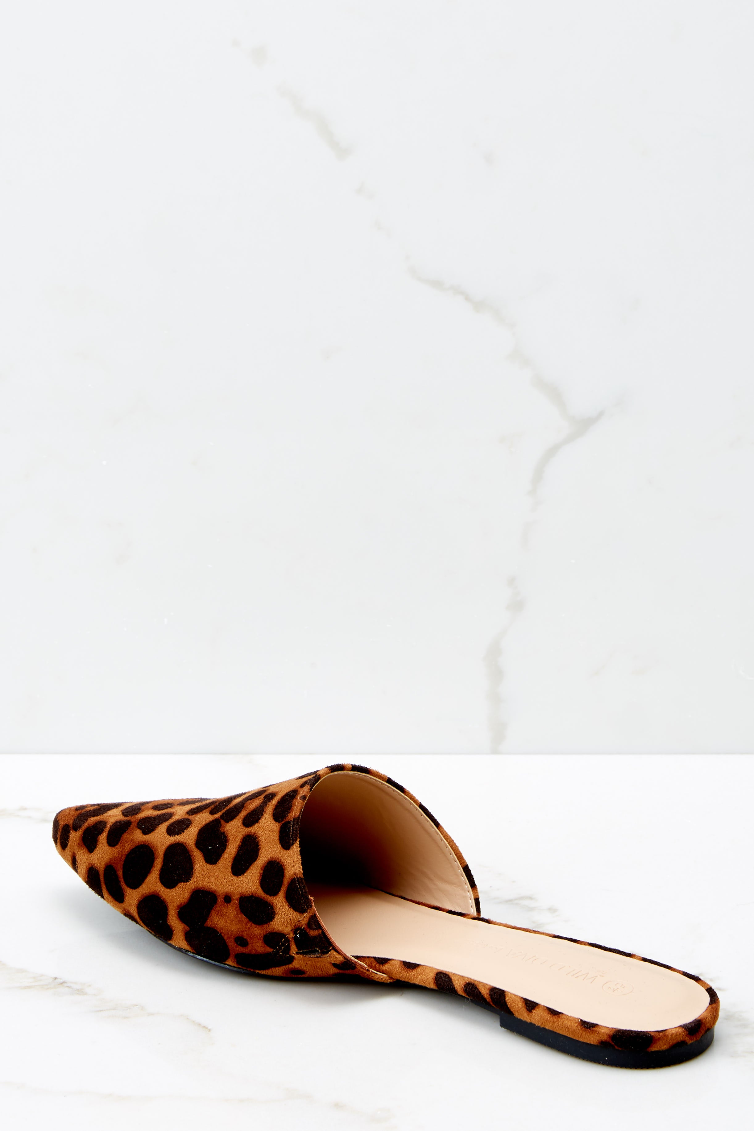 3 No More Back And Forth Leopard Print Mules at reddressboutique.com