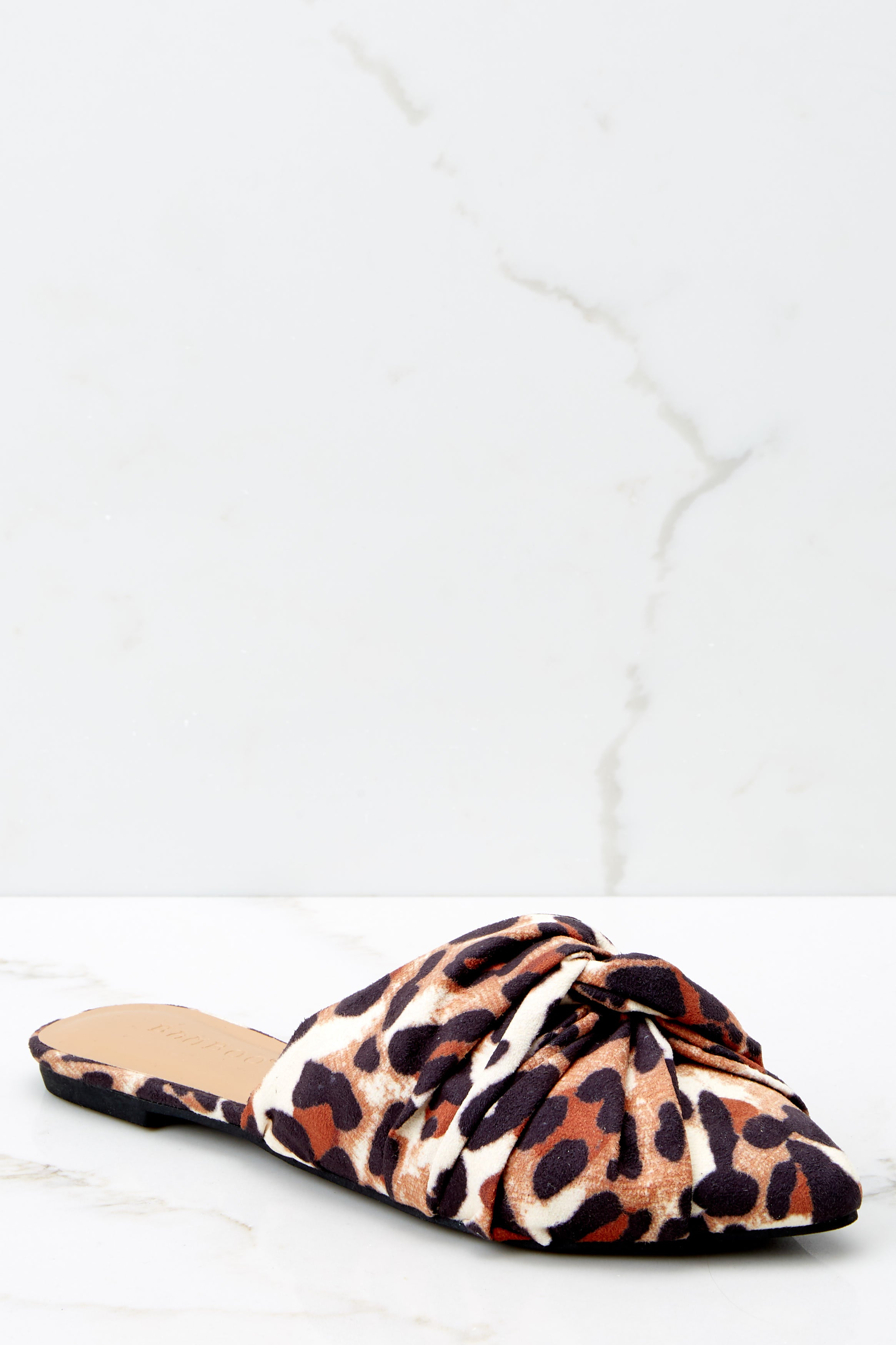 2 Slip On By Leopard Print Mules at reddressboutique.com