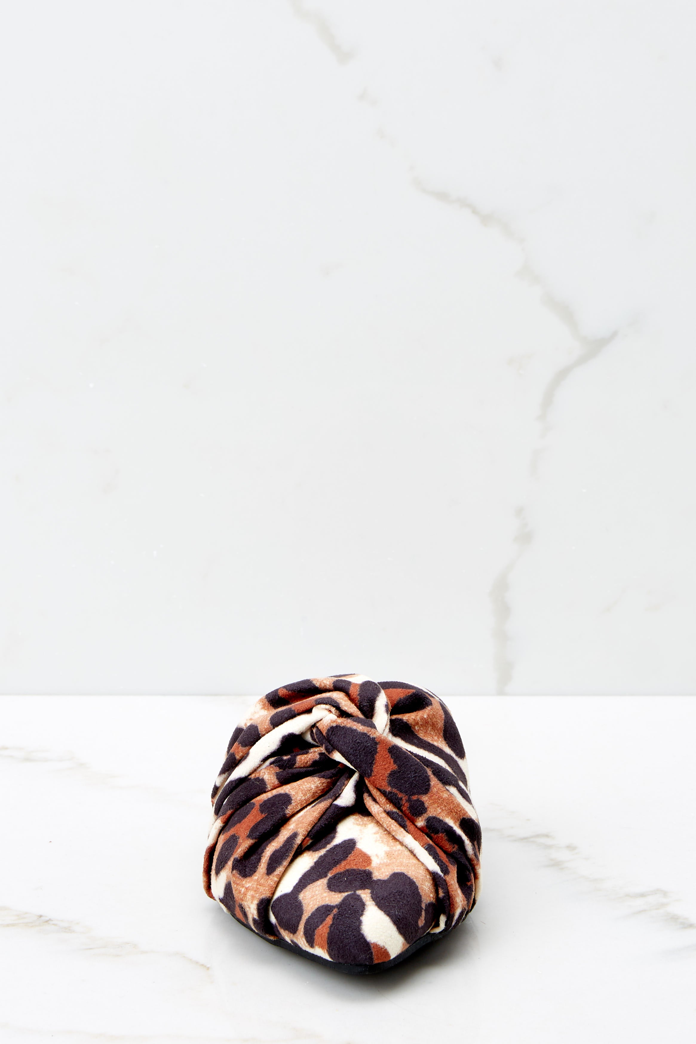 3 Slip On By Leopard Print Mules at reddressboutique.com