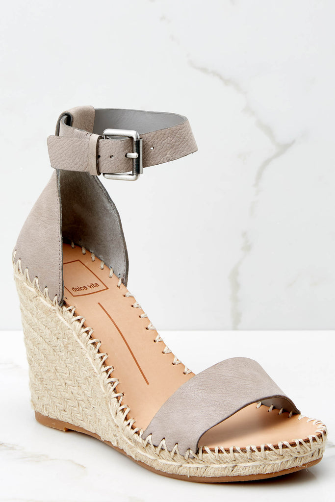 1 Whatever Whenever Tan Flatform Sandals at reddressboutique.com