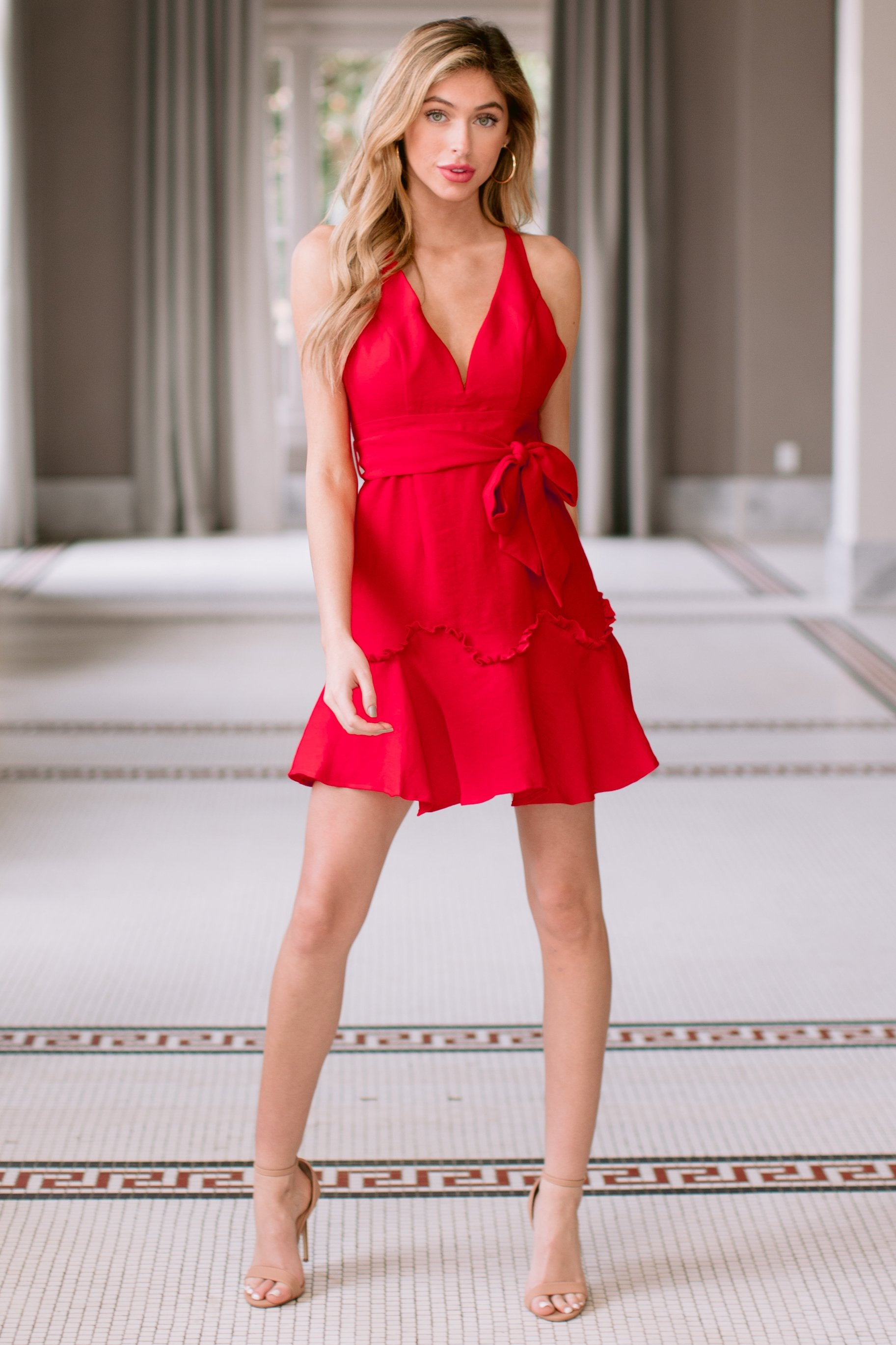 11 Hearts Aflame Red Dress at reddressboutique.com