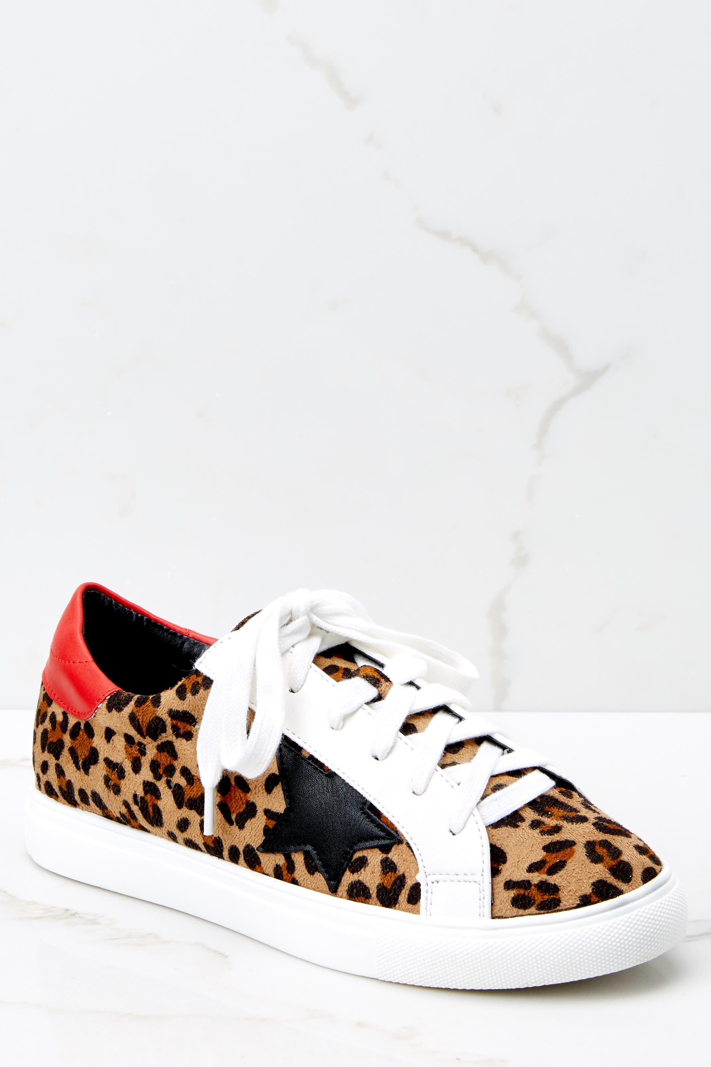 2 Getting Better Leopard Print Sneakers at reddress.com