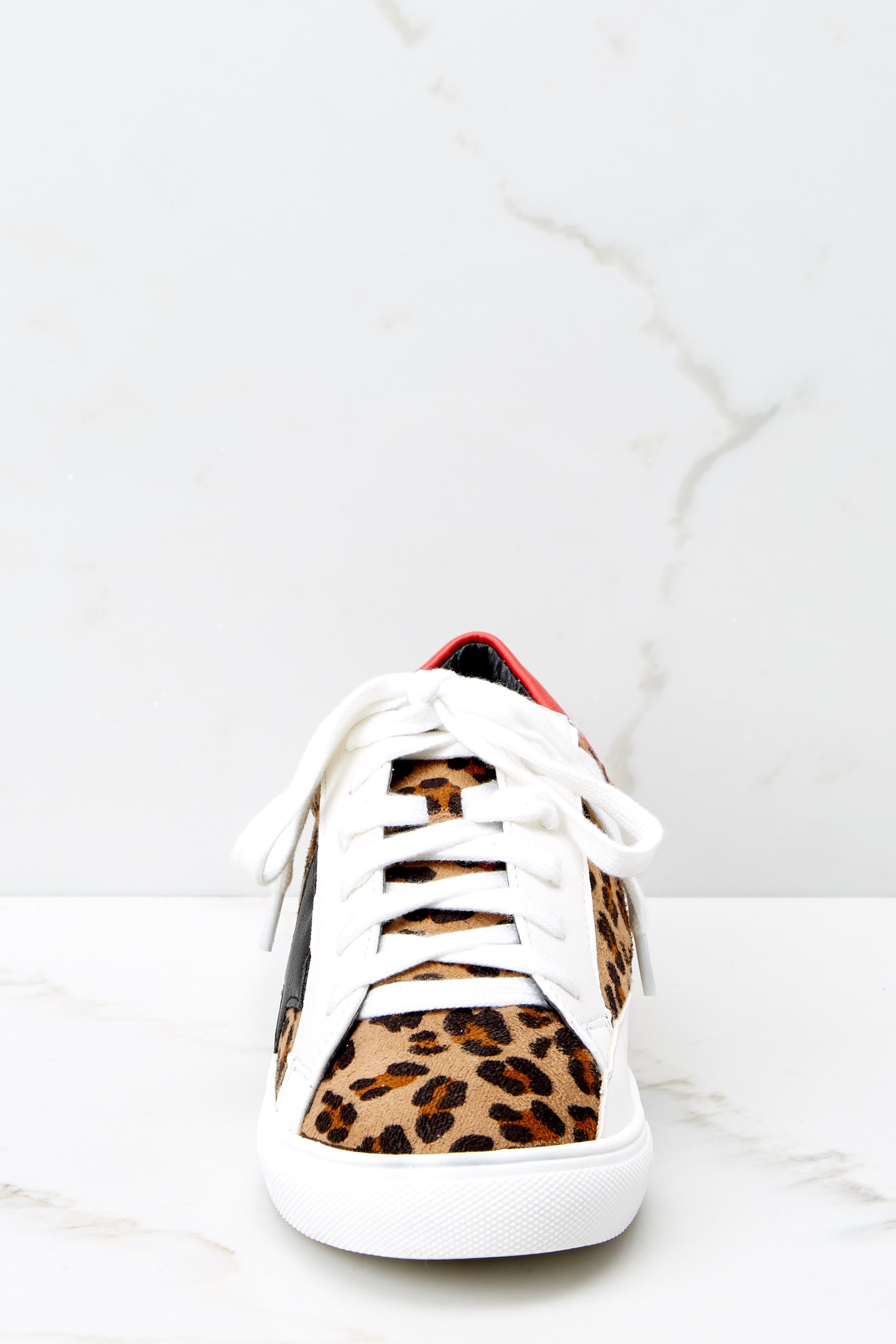 3 Getting Better Leopard Print Sneakers at reddress.com