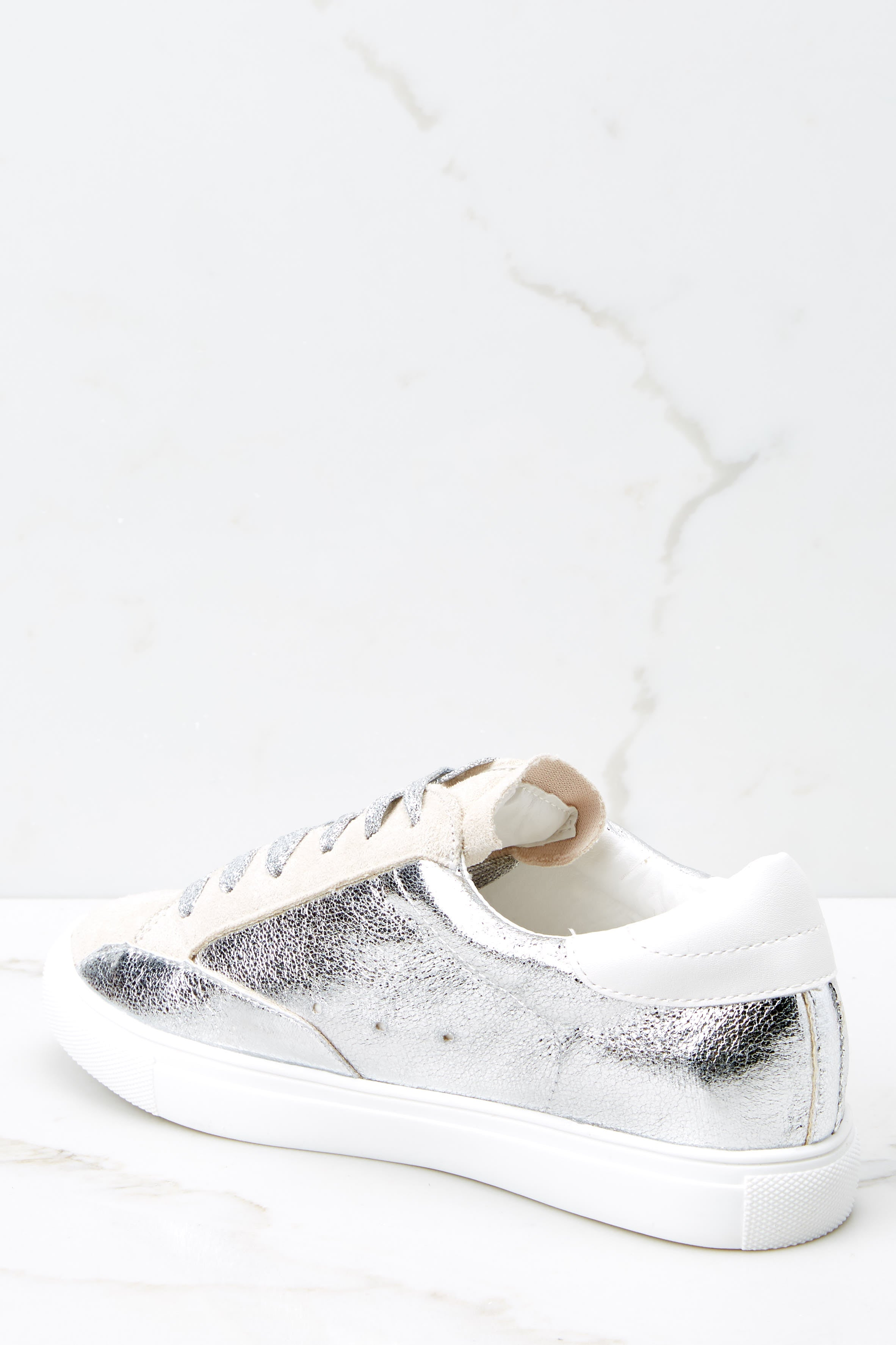 3 Getting Better Silver Sneakers at reddressboutique.com