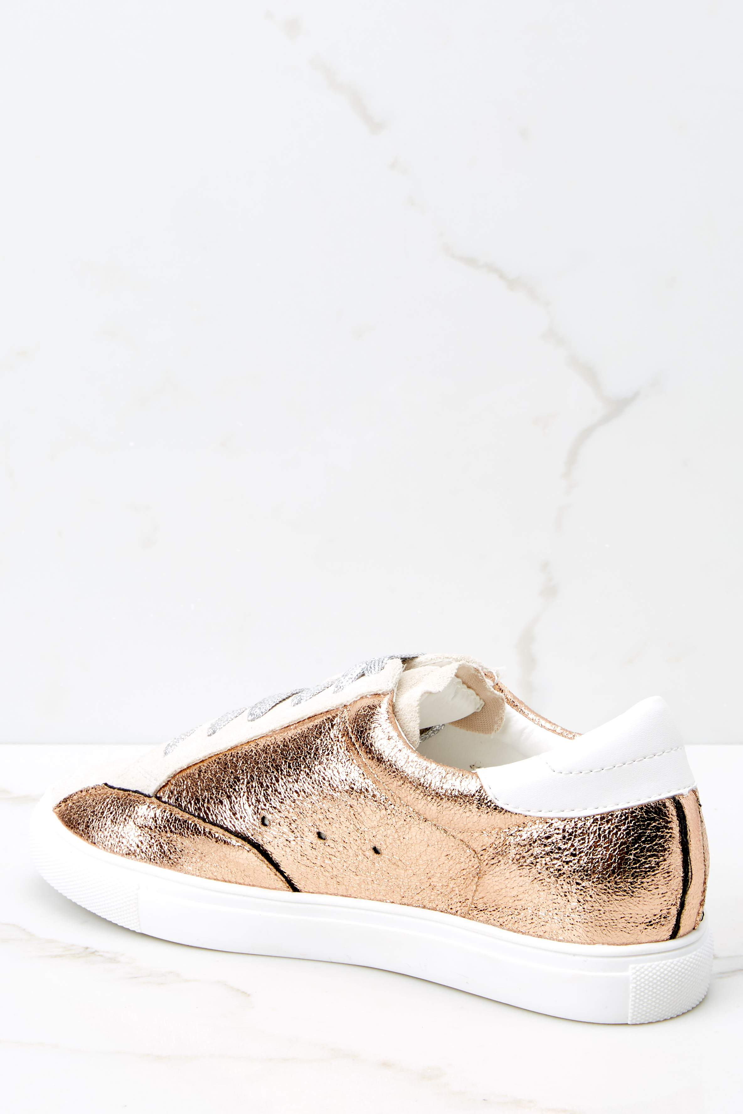 4 Getting Better Rose Gold Sneakers at reddress.com