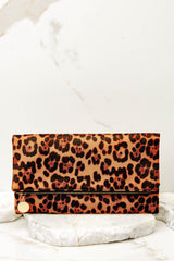 3 Going Out Leopard Print Clutch at reddress.com