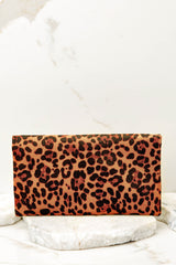 5 Going Out Leopard Print Clutch at reddress.com