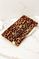 4 Going Out Leopard Print Clutch at reddress.com