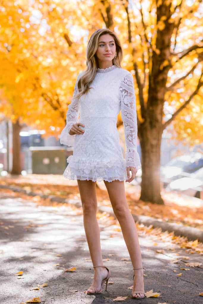 1 Angelic Allusion White Lace Romper at reddressboutique.com