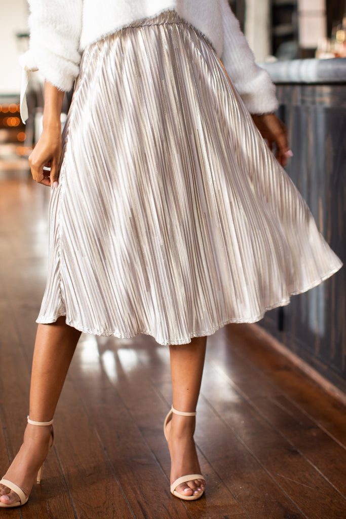 1 Graceful Sway Light Pink Midi Skirt at reddressboutique.com