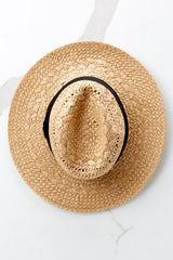 2 Everlasting Vacay Tan Hat at reddressboutique.com