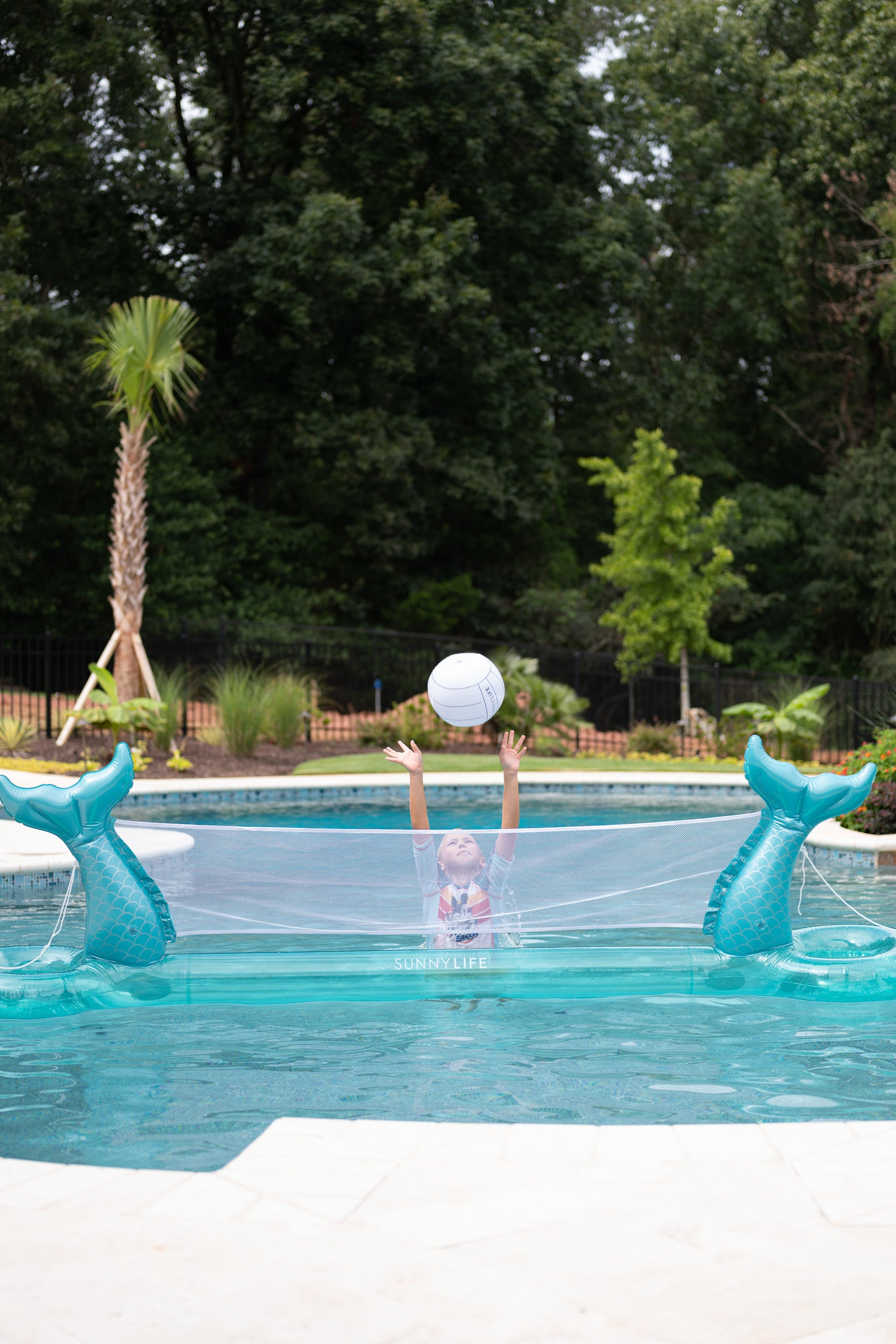 5 Mermaid Inflatable Volleyball Set at reddress.com