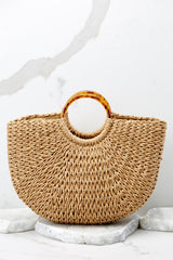 2 Going To Be Good Tan Bag at reddressboutique.com