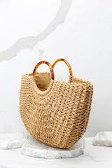3 Going To Be Good Tan Bag at reddressboutique.com