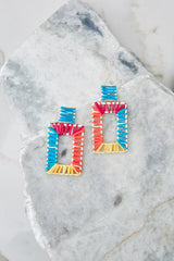 Party Of Two Rainbow Earrings