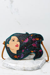 2 Pocahontas Diecut Crossbody Purse at reddressboutique.com