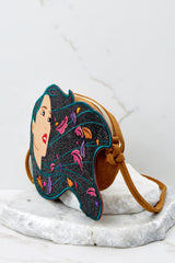 3 Pocahontas Diecut Crossbody Purse at reddressboutique.com